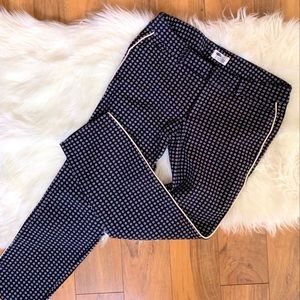 Old Navy The Diva Pants Black Red White Size 10